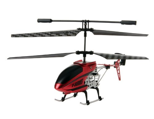 G/S-HOBBY 3.5 Channels Alloy Remote Control Helicopter with Gyroscope (Red)