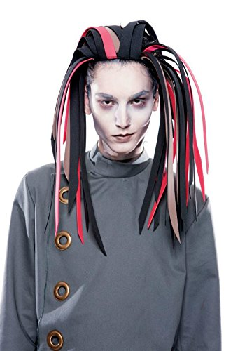 Papermagic Mens Wig Shadow Stalker Moive Gothwerks Foam Band Halloween Costume