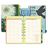 Day-Timer Flavia 2014 Two-Page-Per Month Desk-Size Refill, 5.5 x 8.5 Inches (09626)