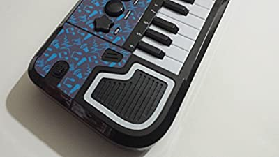 Kids First Rock 'N' Roll Electronic Piano Keyboard Blue and Black