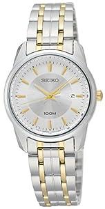 Seiko Women's SXDE67 Quartz White Dial Watch