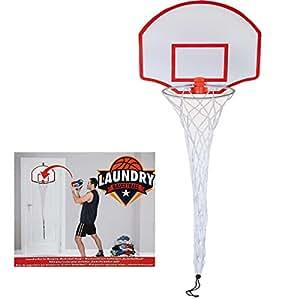 Laundry basketball hoop door hanging fun overdoor novelty bedroom gift game new - Laundry basket basketball hoop ...
