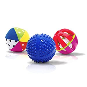 Sassy Developmental Sensory Ball Set - Inspires Touch