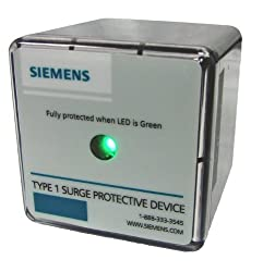 Siemens TPS3A03050 120 240 Type 1 Split Phase Surge Protective Device Lightning Arrester Replacement Wye Phase