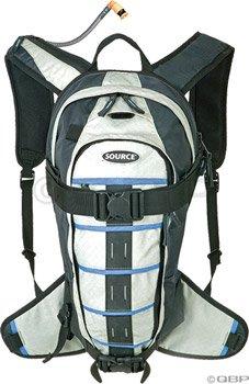 Source Equinox Winter Hydration Pack: Black/Blue; 100oz