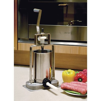 Kitchener Stainless Steel Sausage Stuffer Via Amazon