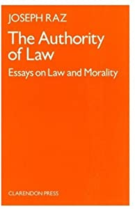 "Cover of ""The Authority of Law"""