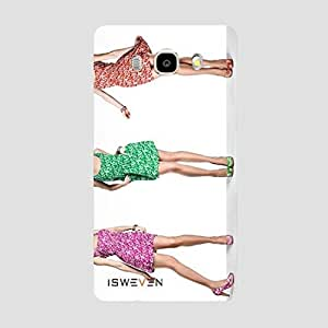 iSweven j765 Luxurious Printed high Quality Hey Girls Back case cover for Samsung Galaxy J7 (2016)