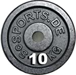 Barbell Disc Plate Weight - 2 x 10 Kg