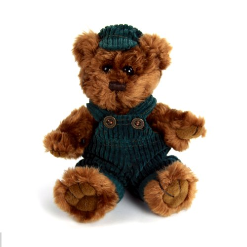"Purr-Fection Calvin Junior Timeless Treasure Bear 6"" Plush"