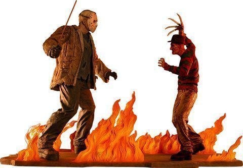 Neca Limited Edition Statue Freddy Vs. Jason