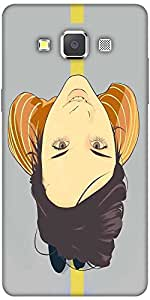 Snoogg Girl Walking On The Road 2781 Hard Back Case Cover Shield For Samsung ...