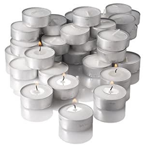 Richland® Tealight Candles White Unscented Set of 125