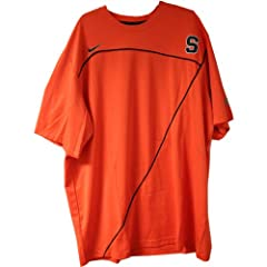 Onuaku Short Sleeve Shooting Shirt - Syracuse 2009-10 Mens Basketball #21 Game Worn...