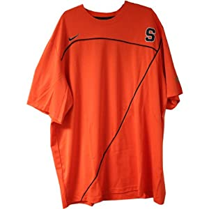 Onuaku Short Sleeve Shooting Shirt - Syracuse 2009-10 Mens Basketball #21 Game Worn... by Steiner+Sports