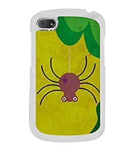 Spider Cartoon 2D Hard Polycarbonate Designer Back Case Cover for BlackBerry Q10
