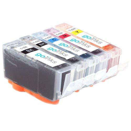 1 Kompatibel Set von 5 Tintenpatronen zu ersetzen PGI-550 & CLI-551 (5 Tinten) - Schwarz / Cyan / Magenta / Gelb für den einsatz in Canon Pixma iP7250, MG5450, MG6350, MX925