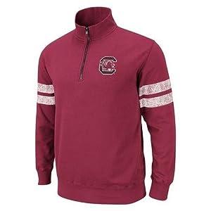 South Carolina Gamecocks Cardinal Flex 1 4 Zip Fleece Sweatshirt by Colosseum