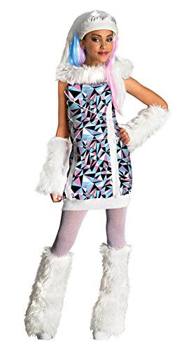 Monster High Abbey Bominable Child Costume Size:Large