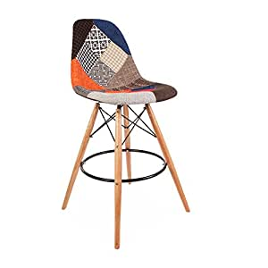 Modhaus mid century modern eames dsw style for Chaise eames dsw patchwork