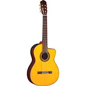 takamine g series eg128sc acoustic electric classical guitar musical instruments. Black Bedroom Furniture Sets. Home Design Ideas