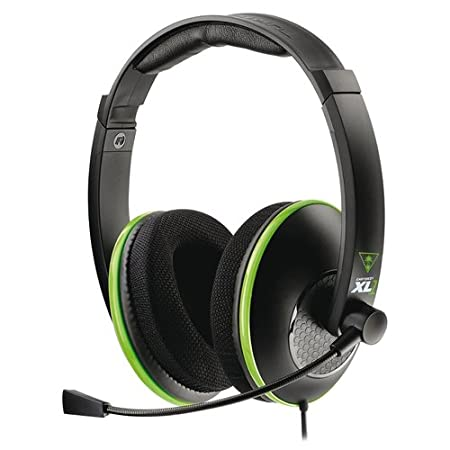 Turtle Beach Ear Force XL1 Officially Licensed Amplified Stereo Gaming Headset for Xbox 360 (TBS-2349-01)