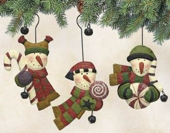 WILLIRAYE - SWEET TREAT ORNAMENTS - (Set of Three) WW9410