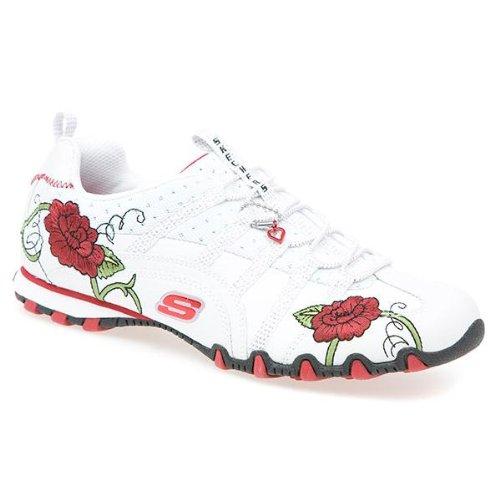 Flower Girl - White-Red Size