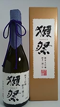 獺祭 磨き二割三分 純米大吟醸酒(オリジナル化粧箱入り) 720ml 旭酒造 山口県