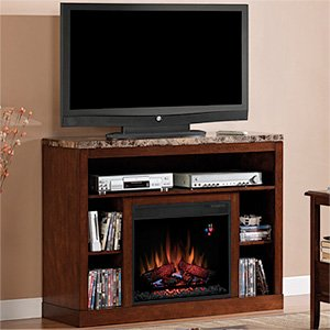 Adams Media Mantel in Empire Cherry 23MM1824-C244 MANTEL ONLY image B005VGRPRY.jpg