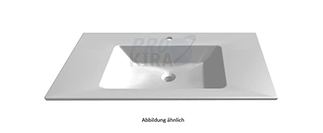 puris Cool Line lavabo in ceramica, Bianco/wtm44091/B: 90 cm