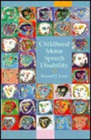 Childhood Motor Speech Disability