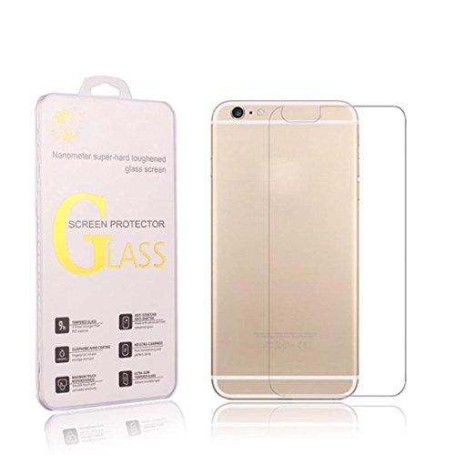 Amonfineshop Explosionsgeschützte 9H gehärtetes Glas Film Rückenprotektor für das iPhone 6 4.7