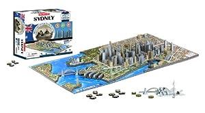 4D Cityscape Sydney Time Puzzle by 4D Cityscape