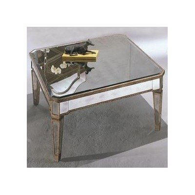 Very Cheap Mirror Coffee Table Discount Bassett Mirror 8311 130 Borghese Square Cocktail Table