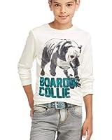 ESPRIT T-shirt Col ras du cou Manches longues Garçon