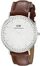 Comprar Daniel Wellington 0607DW - Reloj analógico, para mujer, color blanco y marrón