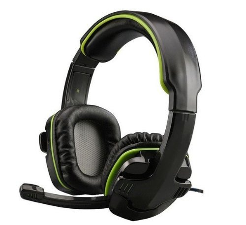 Vipstore® Professional 3.5Mm Stereo Games Gaming Headset Headphones For Pc Laptop (Green)