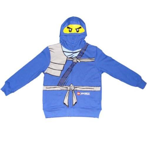 Amazon.com: Lego Ninjago Jay the Blue Ninja Boys Hooded Sweatshirt