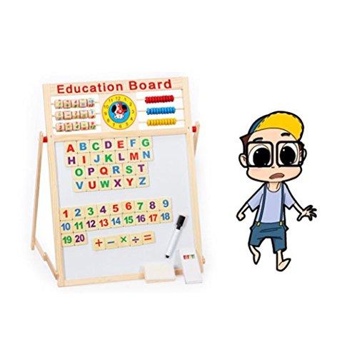 TIFENNY-Kids-Educational-Double-sided-Blackboard-Whiteboard-Magnetism-Drawing-board-Toy