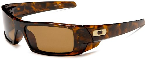 Oakley GasCan Brown Tortoise w/Bronze Polarized Sunglasses (12-855) Günstigen Preisen
