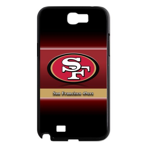 NFL San Francisco 49ers Samsung Galaxy Note 2 N7100 Case Snap On Cover Faceplate Protector at Amazon.com