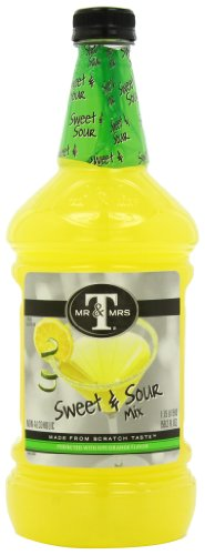 Mr & Mrs T Sweet and Sour Mix, 59.2-Ounce (Pack of 3)