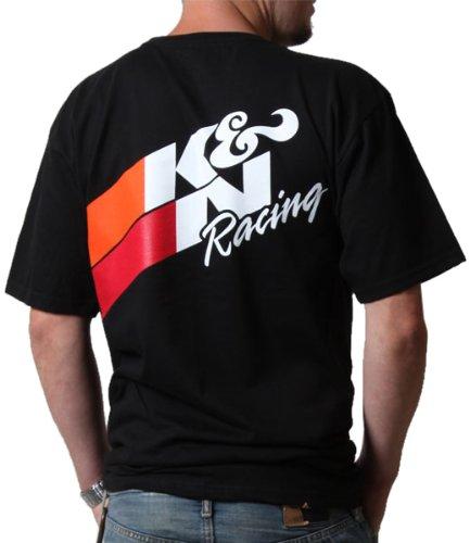 K&N 88-6003-3X Black XXX-Large T-Shirt with Original Racing Logo