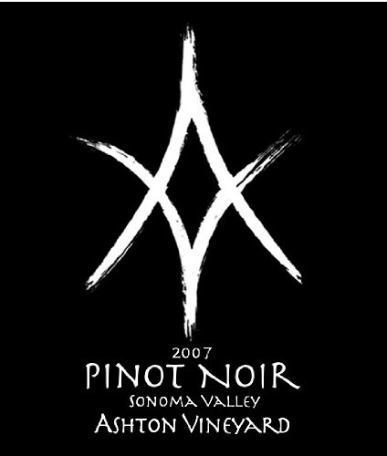 2007 Ashton Vineyards Old Vine Pinot Noir Sonoma Mountain 750 Ml