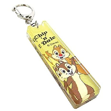 Disney chip dale acrylic Strap Key Chain
