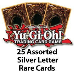 25 Assorted Silver Letter Rares Yu Gi Oh! - 1