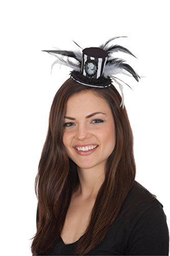 Women's Mini Cameo Top Hat
