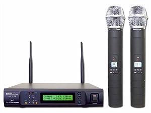 IDOLpro UHF-333 Pro UHF Dual Wireless Microphone System