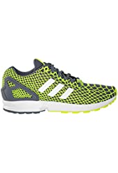 Adidas ZX Flux Techfit Mens Running shoes Yellow/White/Onix b24934